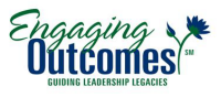 Engaging Outcomes Stacked Logo with Tagline