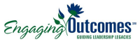 Engaging Outcomes Linear Logo with Tagline